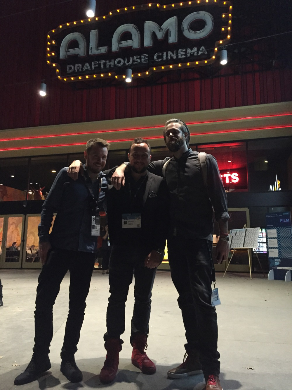 Alexander Dunn, Alex Noyer and Matthew Jarman