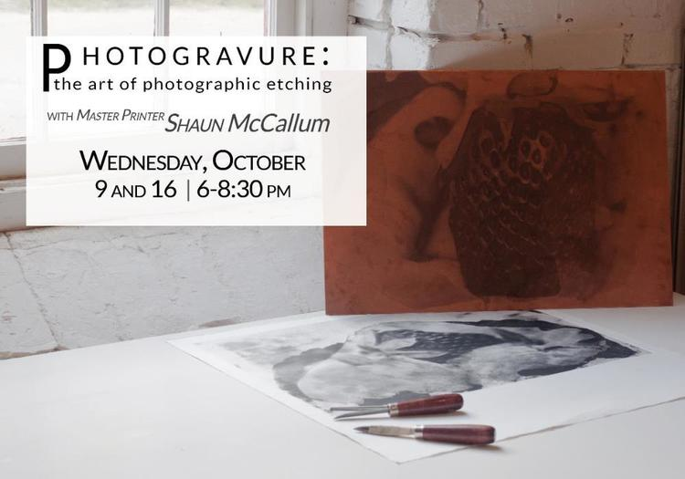 strawhatpress :     Learn the Photogravure process from the Gravure Guru, cheeseburger aficionado and co-founder Shaun McCallum. Click the photo for more information!     This guy knows his stuff, and for the money its probably the best deal going!