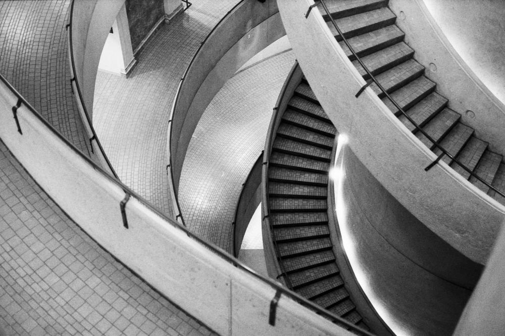 Westin-Bonaventure stairs DTLA