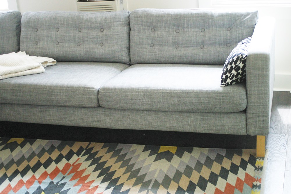 Ikea Karlstad DIY makeover, jupedujour.com