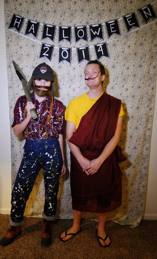 Lumber Jackson Pollock and Salvador Dali Lama