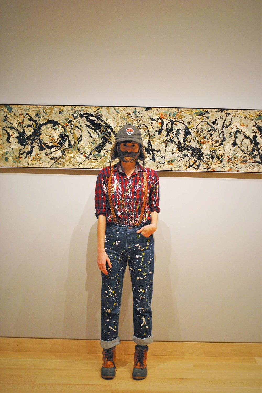 Lumber Jackson Pollock