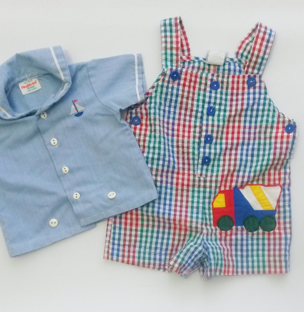 Vintage baby clothes at DI Los Angeles