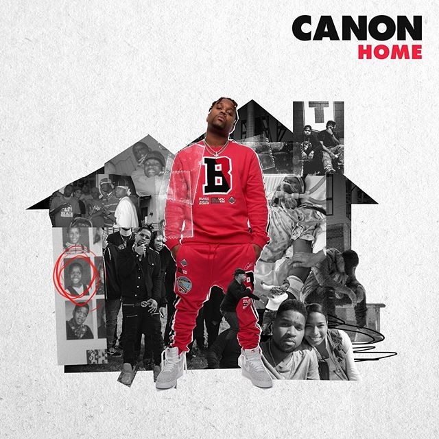 "We got one on here! Pre-order Canon's new record ""Home"" NOW! Dropping 12/07/2018 #CanonSeason"