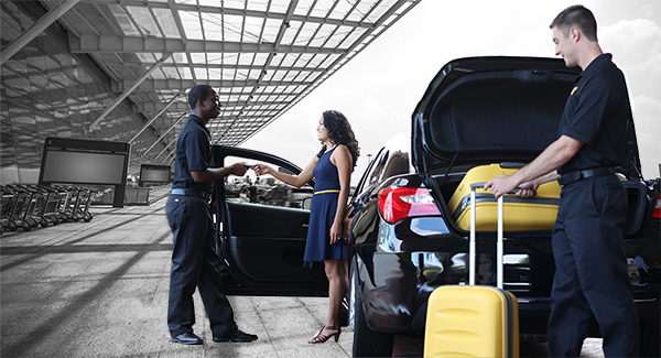 In a hurry? Reserve our Speed Park Service. - Get checked in faster and have your vehicle ready when you return. Our Signature Valet Service.