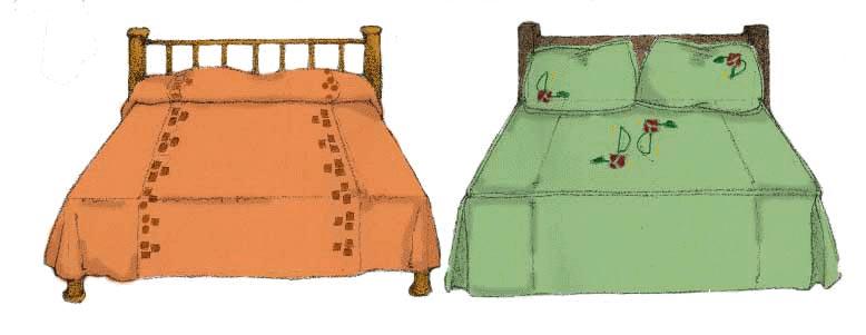 arts crafts bedspreads 2