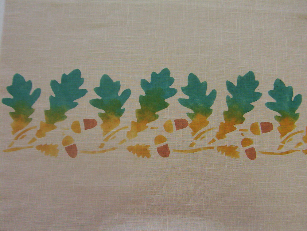Oak Leaf Border
