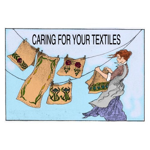 CARING FOR VINTAGE TEXTILES    Click on the image to download this free information on taking care of your collection.