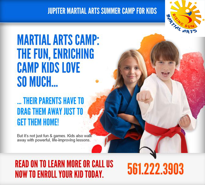 Ages 6 1/2 & Up; 9am-3pm; June 6th-August 5th; Weapons & Bully Defense Camp