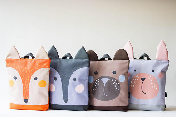 backpacks - cuteness overload
