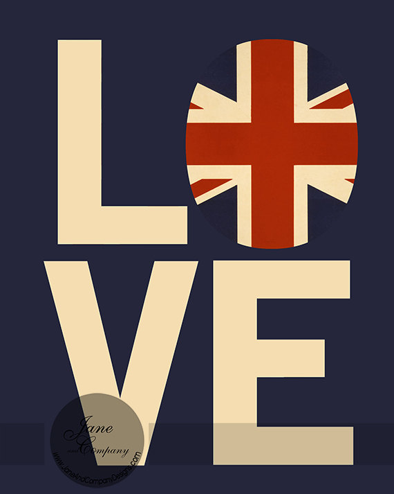 Ardent Adoration - Union Jack never looked so good.