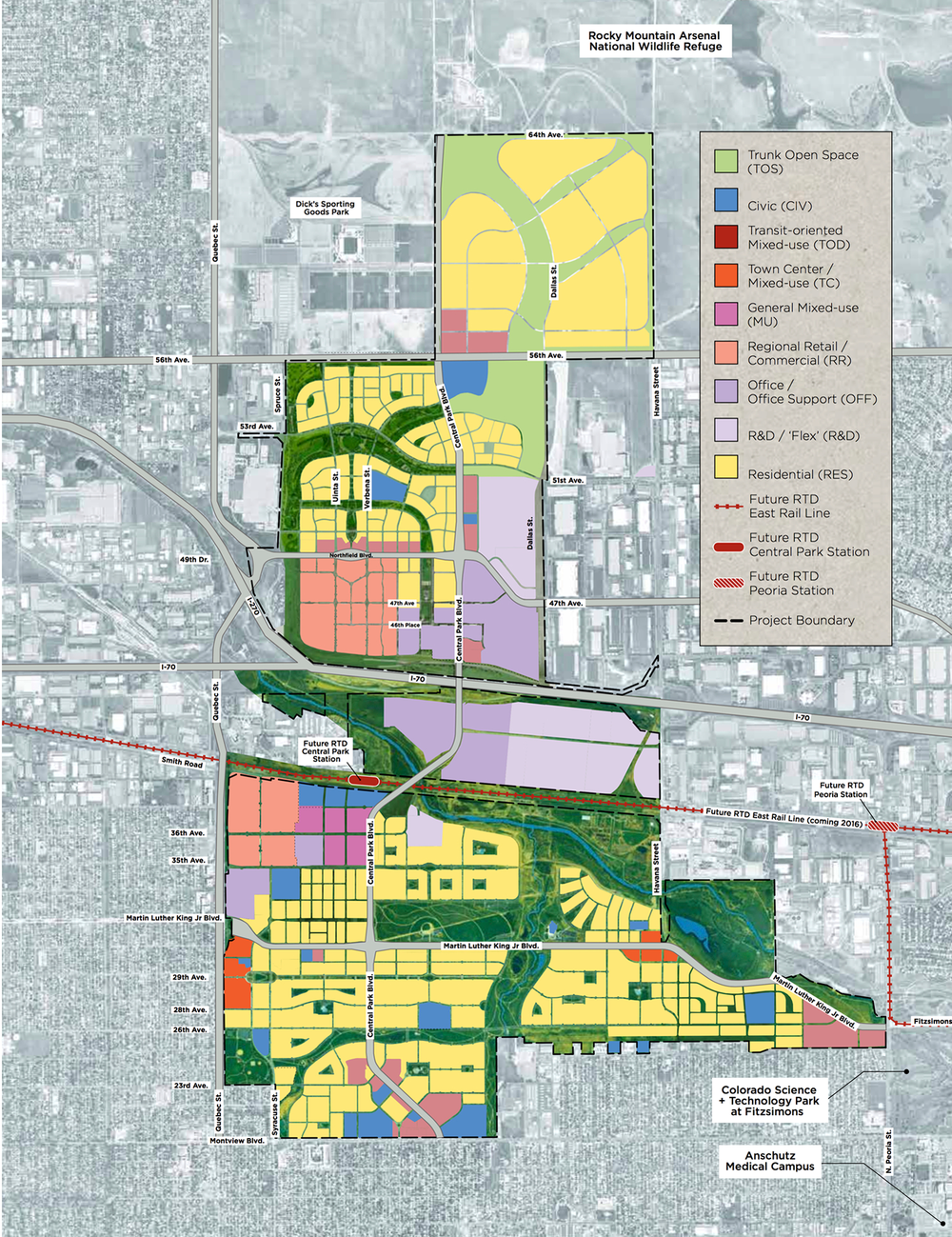 Stapleton Land Use Map