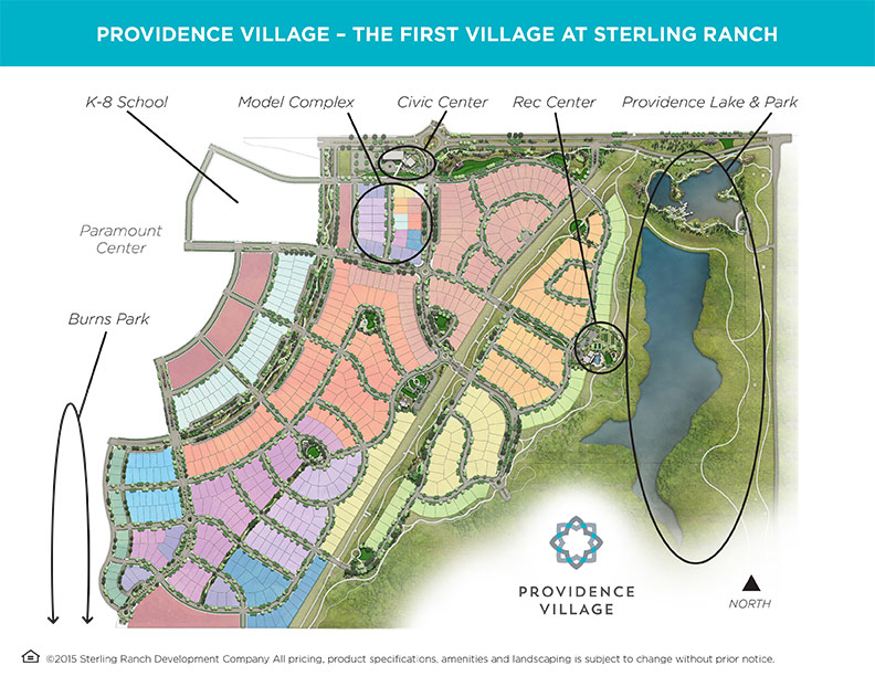 Sterling Ranch Colorado Map.Sterling Ranch New Homes In Denver Littleton And Urbana