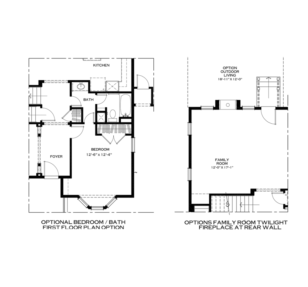 Additional First Floor Options