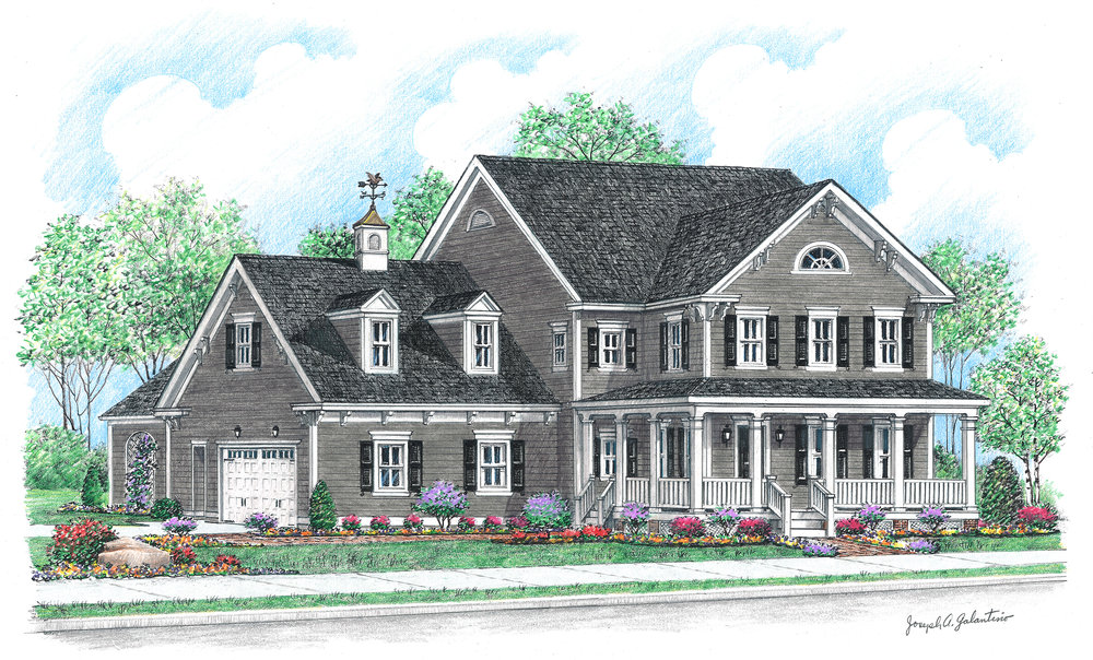 Artist's rendering of Parkwood's Asheville model planned for Sterling Ranch, anticipated opening Spring 2017.