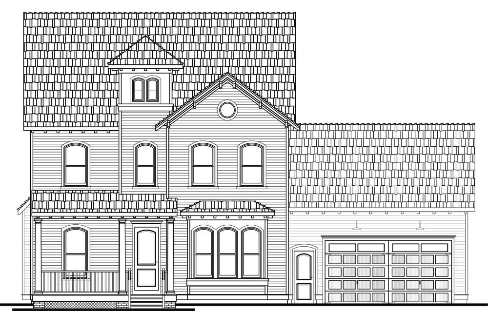 Saybrook Italianate 3,040 Square Feet 3+ Bedrooms 2.5+ Bathrooms
