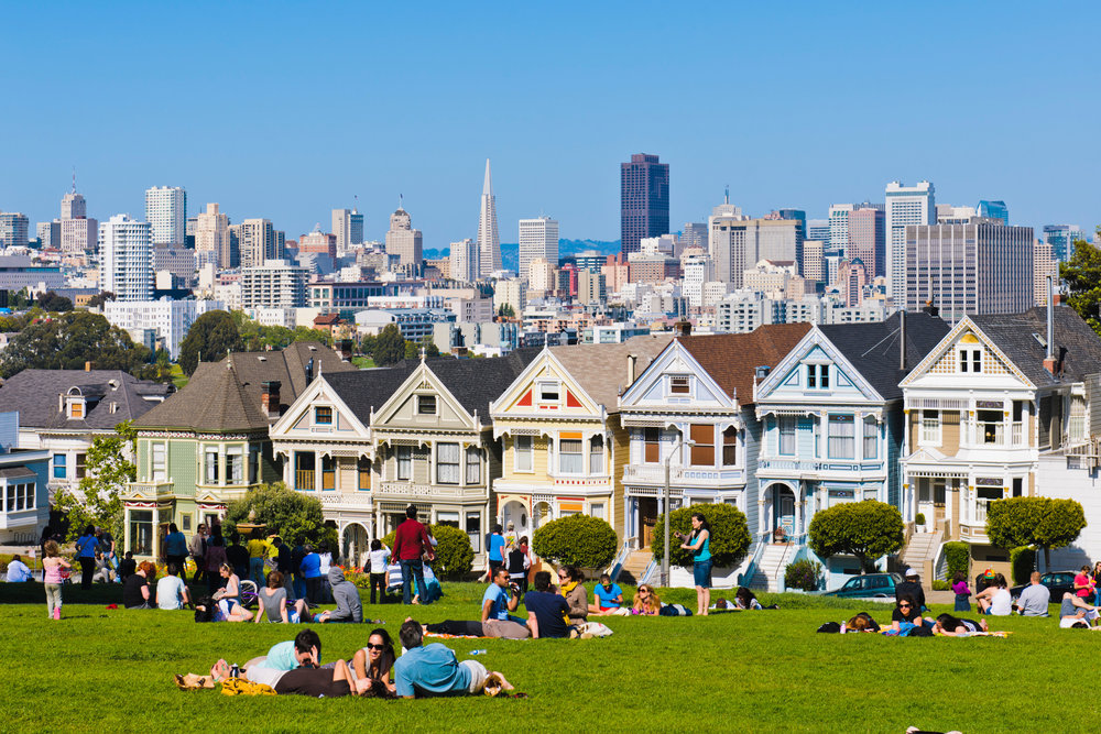 Nicknamed Postcard Row, it's no wonder the Painted Ladies have become a must-see location in San Francisco.