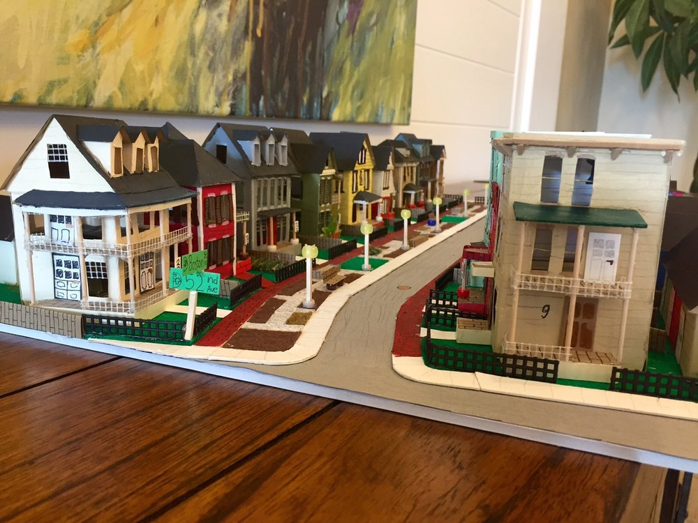 Boston Street Gardens Model
