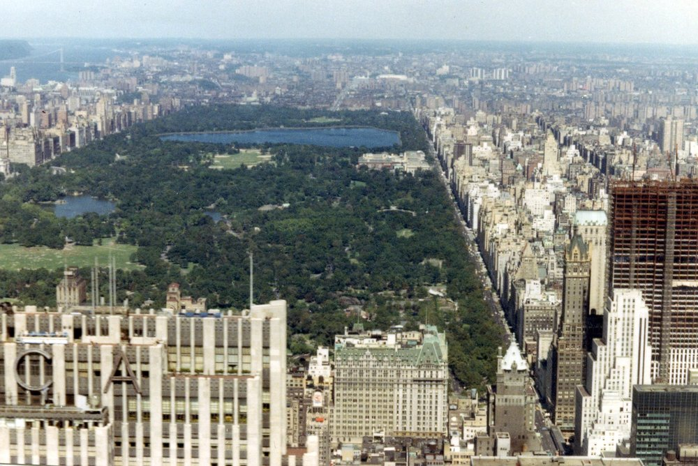 View of Central Park By John Atherton ( CC BY-SA 2.0 ) via Wikimedia Commons