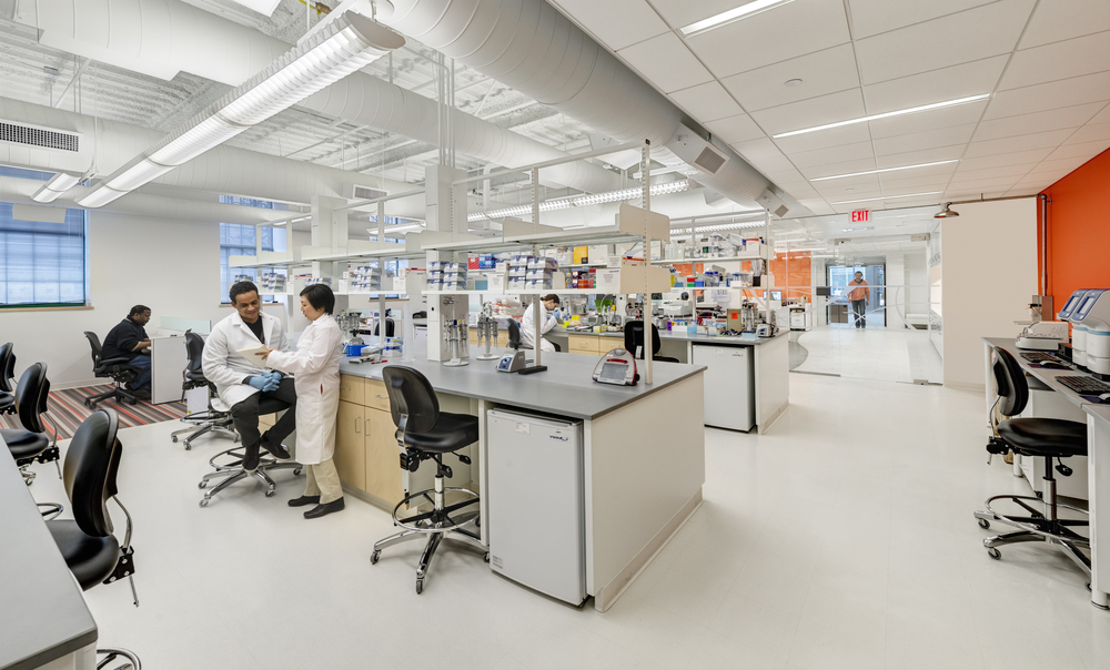 Shared Lab facilities for start-ups looking to quickly bring products to market.