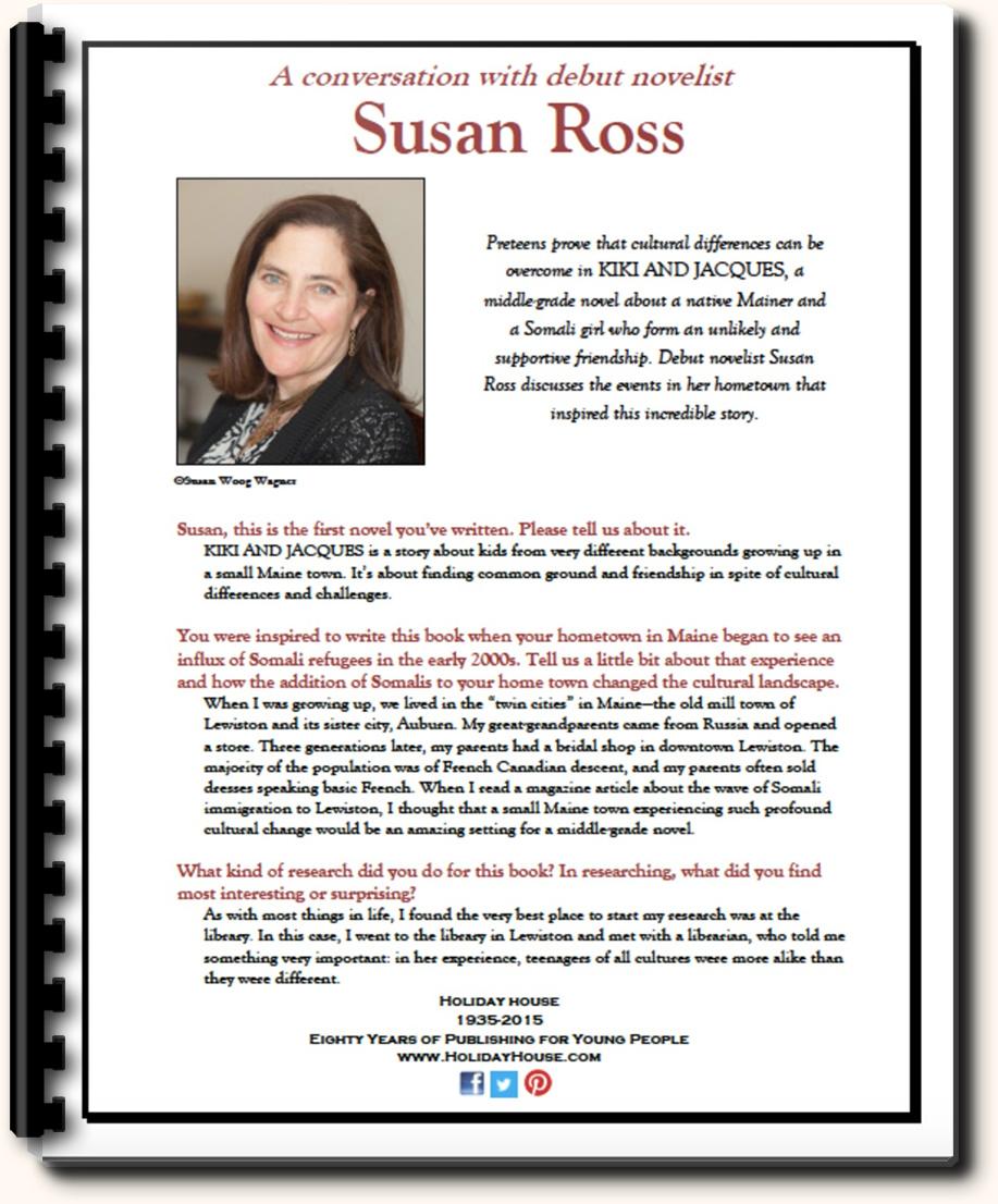 Susan Ross Q&A