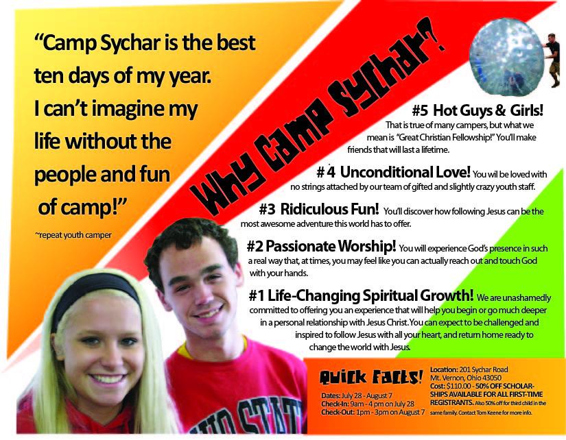 Camp Sychar 3 Panel Brochure-inside