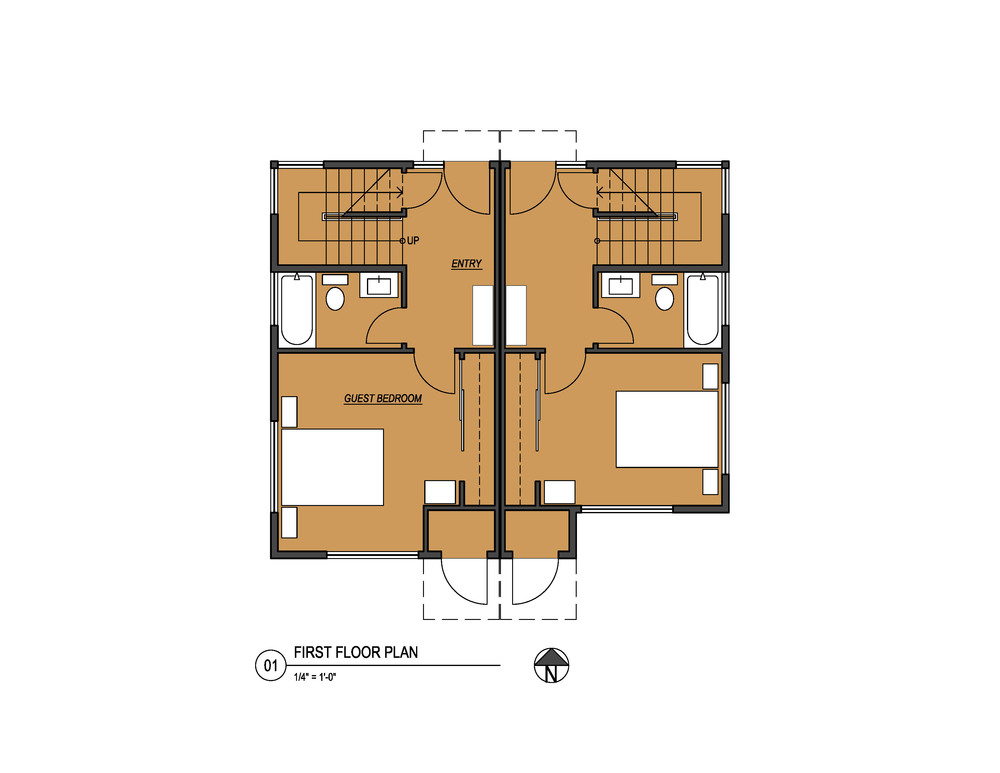 graphicNW60thTownhouses1stFloorPlanCopyrightVELOCIPEDEarchitectsinc2016 1.jpg