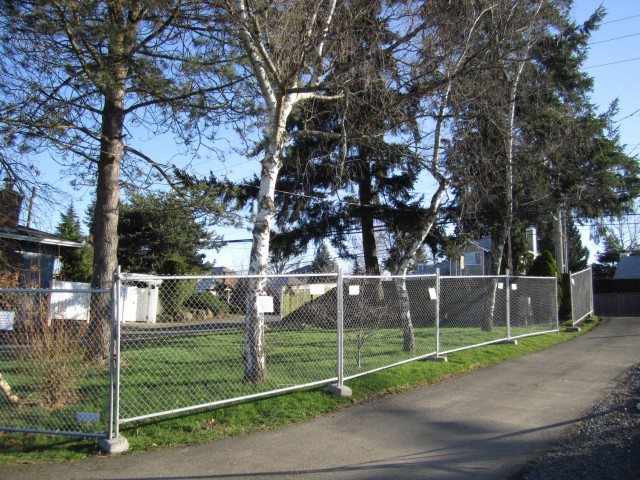 tree protection fence