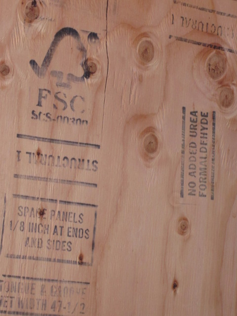 FSC certification stamp