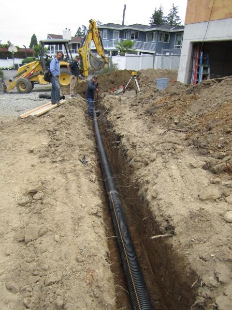 storm drain pipe