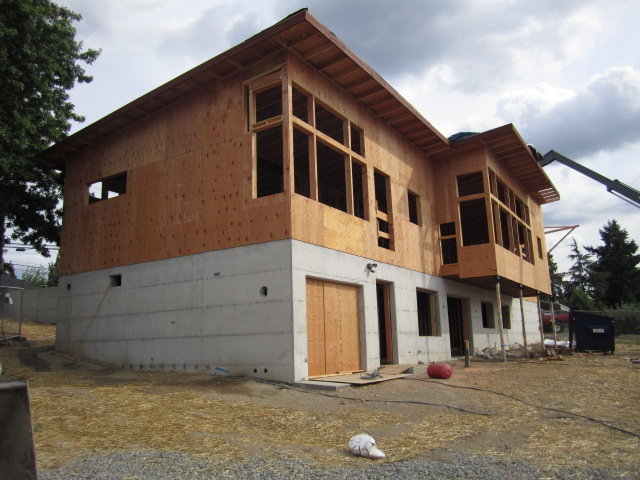 window openings in exterior