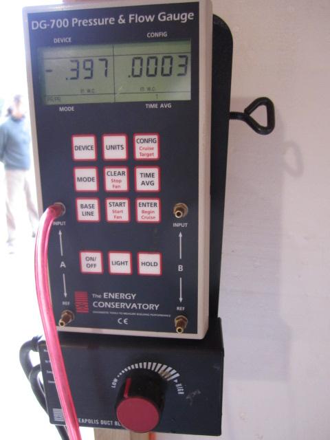 fan pressure meter
