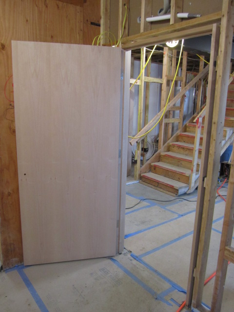 FSC certified wood door