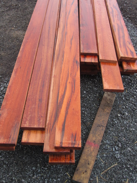 tiger wood decking