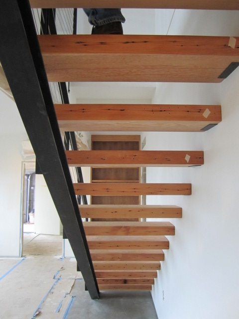 underside of stair