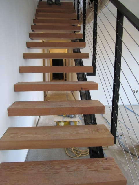 stair from below