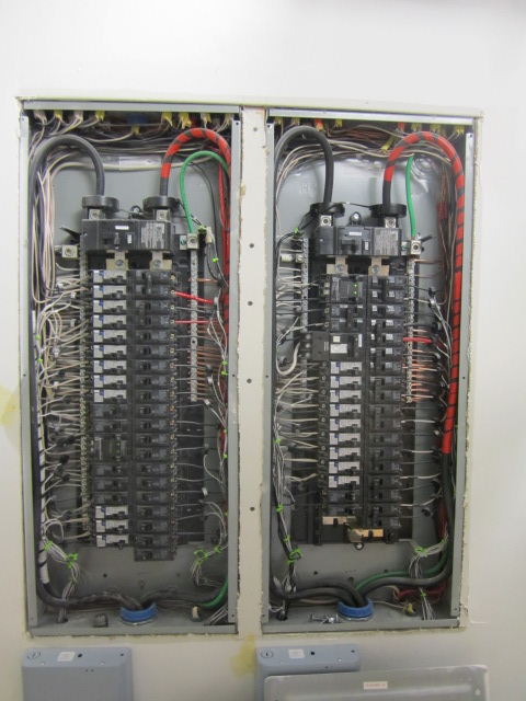 inside of electrical panels