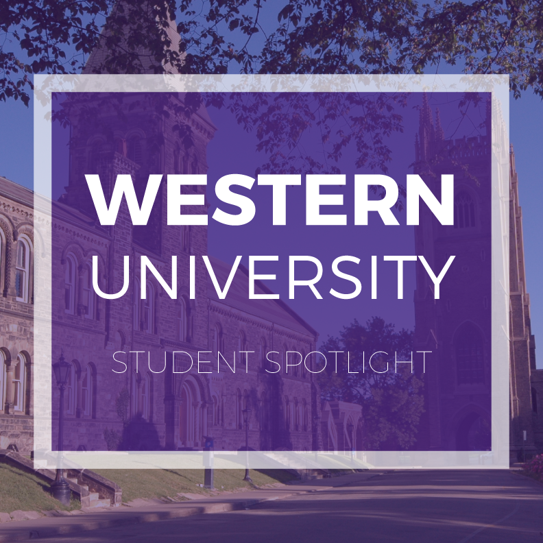 click to hear from a Western student