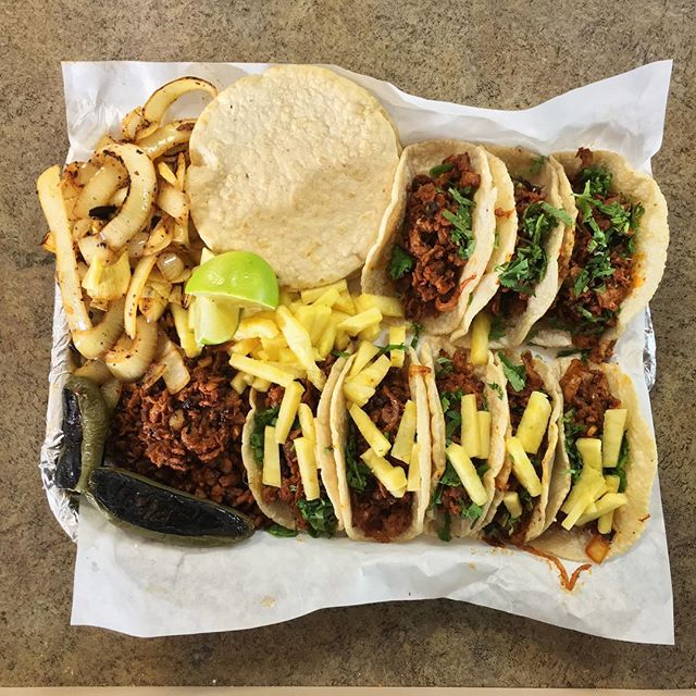 #Tacos on Tacos... ... ... ... #food #foodie #foodporn #foodgasm #nom #nomnom #hungry #instafood #taco #tacos #mexicanfood #boyleheights #eastlosangeles #eastla #catering #tortillas #eastsidetacos #discoverLA #tacolife