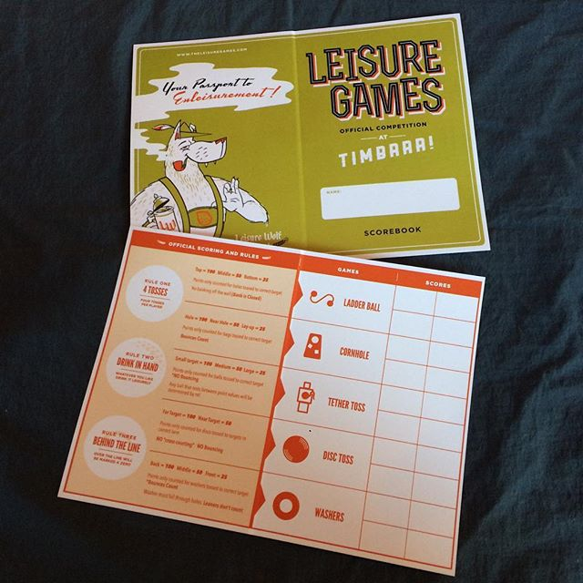 Hope you have your ticket to #timbrrr2016 so can get one of these!!! The official Leisure Games competition is here and ends at 4pm. #leisuregames