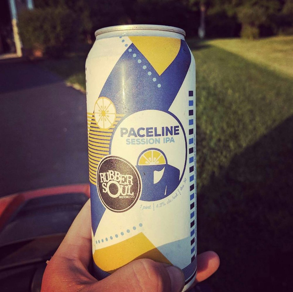 In cans or on draft, you'll be able to find Paceline Session IPA all year long.