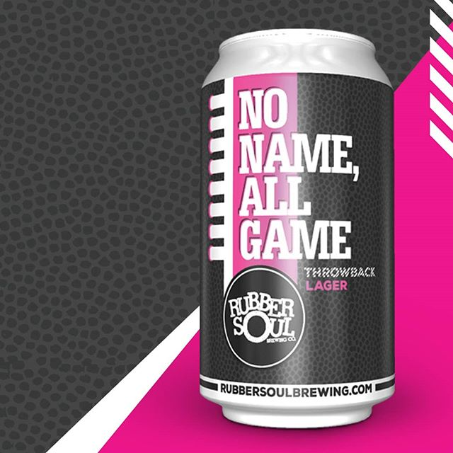 New release this week! Check out our facebook events for a date and time to meet J. Hill on his tour of state college and grab some of our latest brew **No Name All Game**, this Wednesday November 7th.  #rubbersoulbrewing #statecollegepa #beerrelease #lager #craftbeer #pacraftbeer #marylandcraftbeer #newbeer #craftbrewery #cans #pabeer #beerporn #instabeer