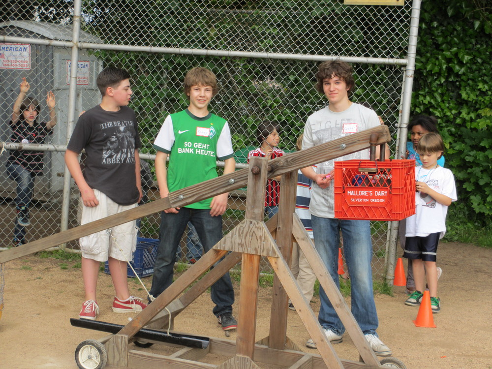 Water Balloon Trebuchet