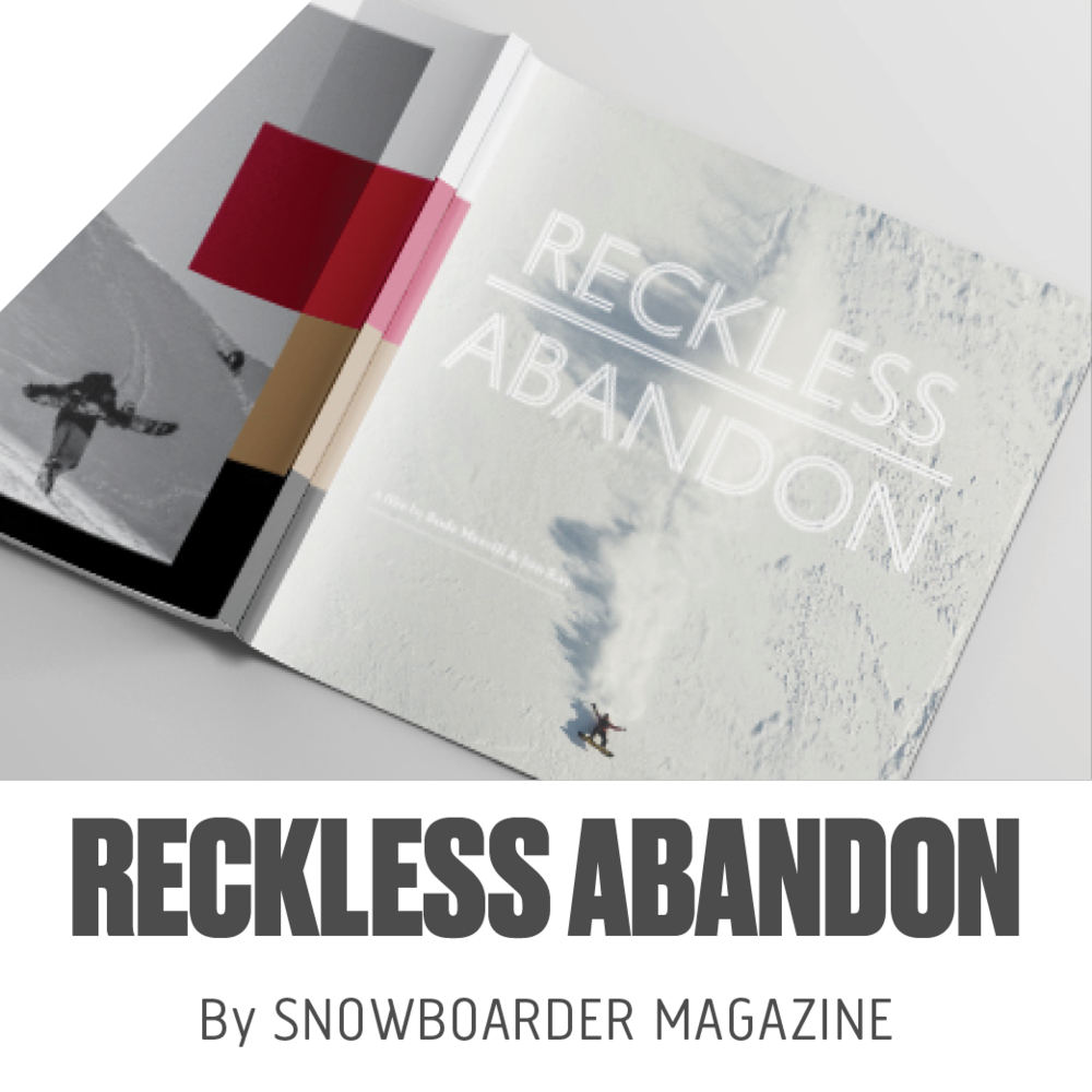 Gave Art Direction for film and designed a 50 page book with pictures from the film to be produced through SNOWBOARDER Magazine. View Designs...