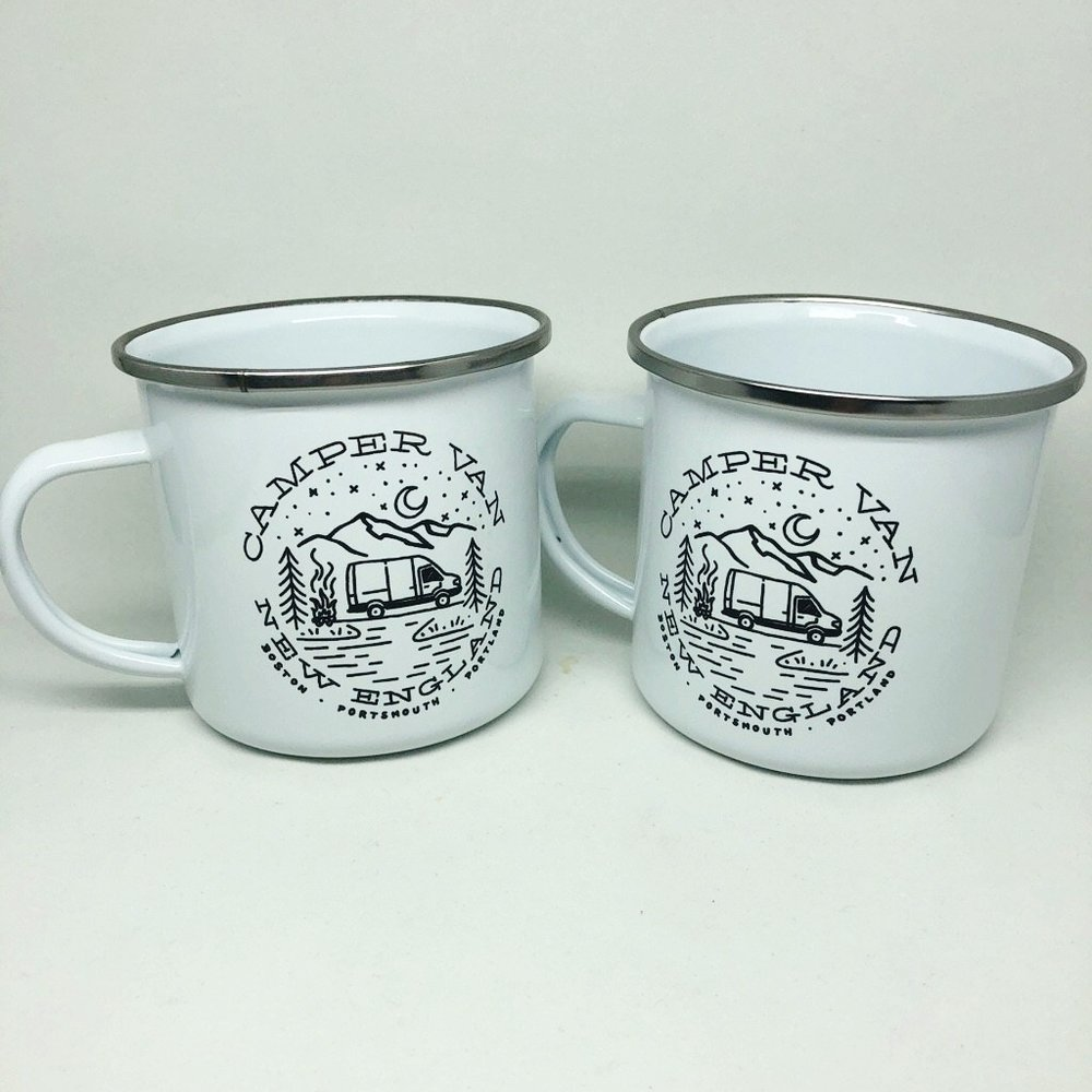 Campe rVan New England mugs