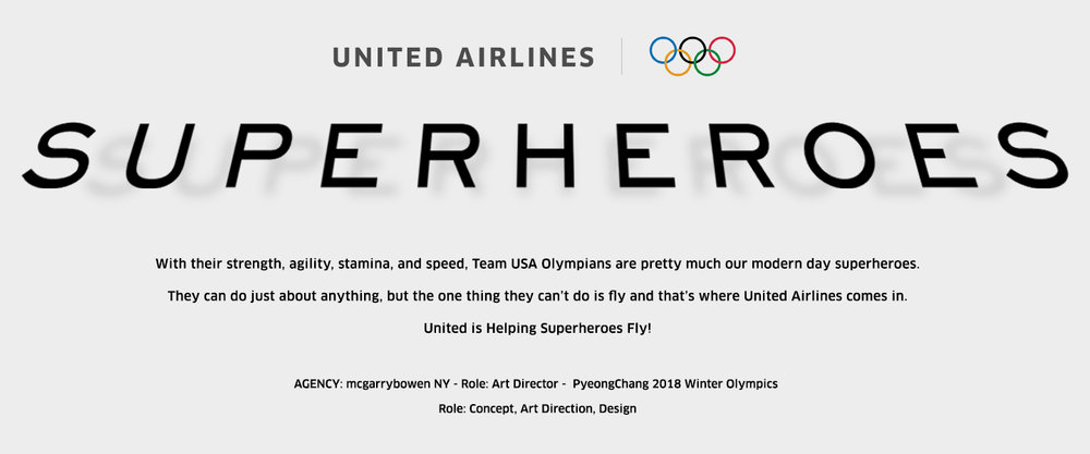 With their strength, agility, stamina, and speed, Team USA Olympians are pretty much our modern day superheroes. They can do just about anything, but the one thing they can't do is fly and that's where United Airlines comes in. United is Helping Superheroes Fly!