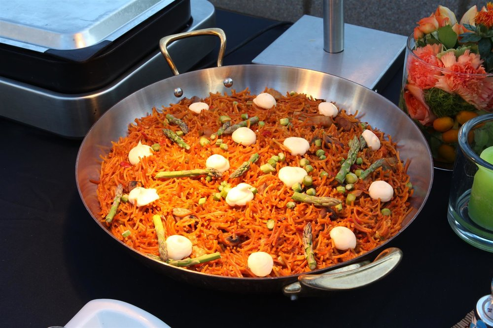 literal vats of paella