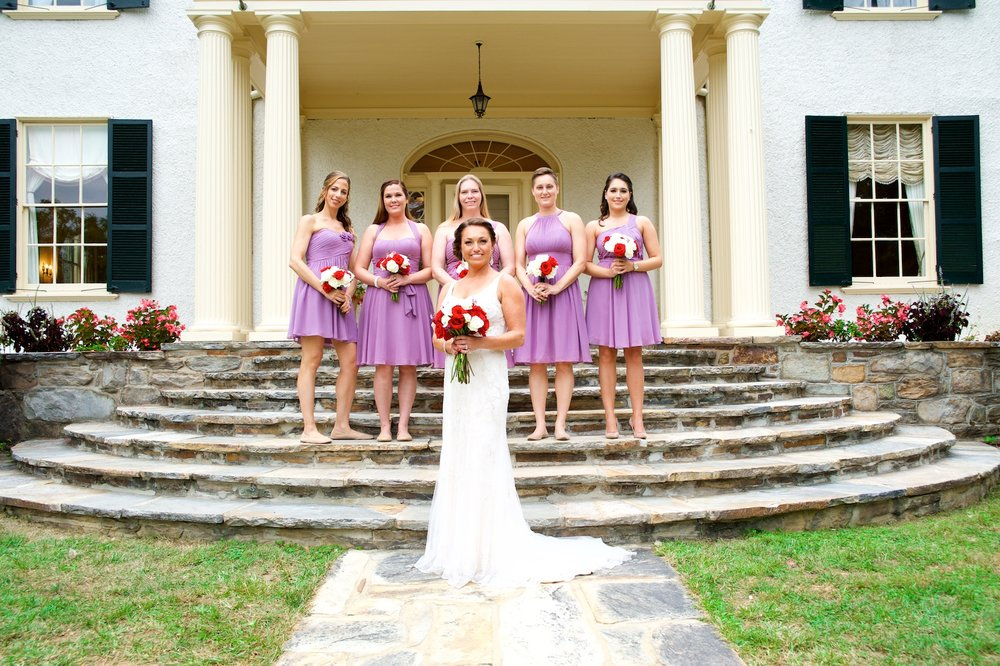 bride-bridesmaids-firstlook-wedding-dress-lilac-lavendar-photos.jpg