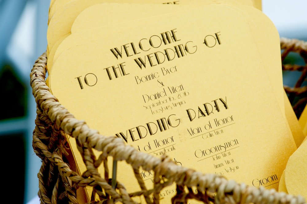 gatsby-20s-gold-wedding-program-fan-photos.jpg