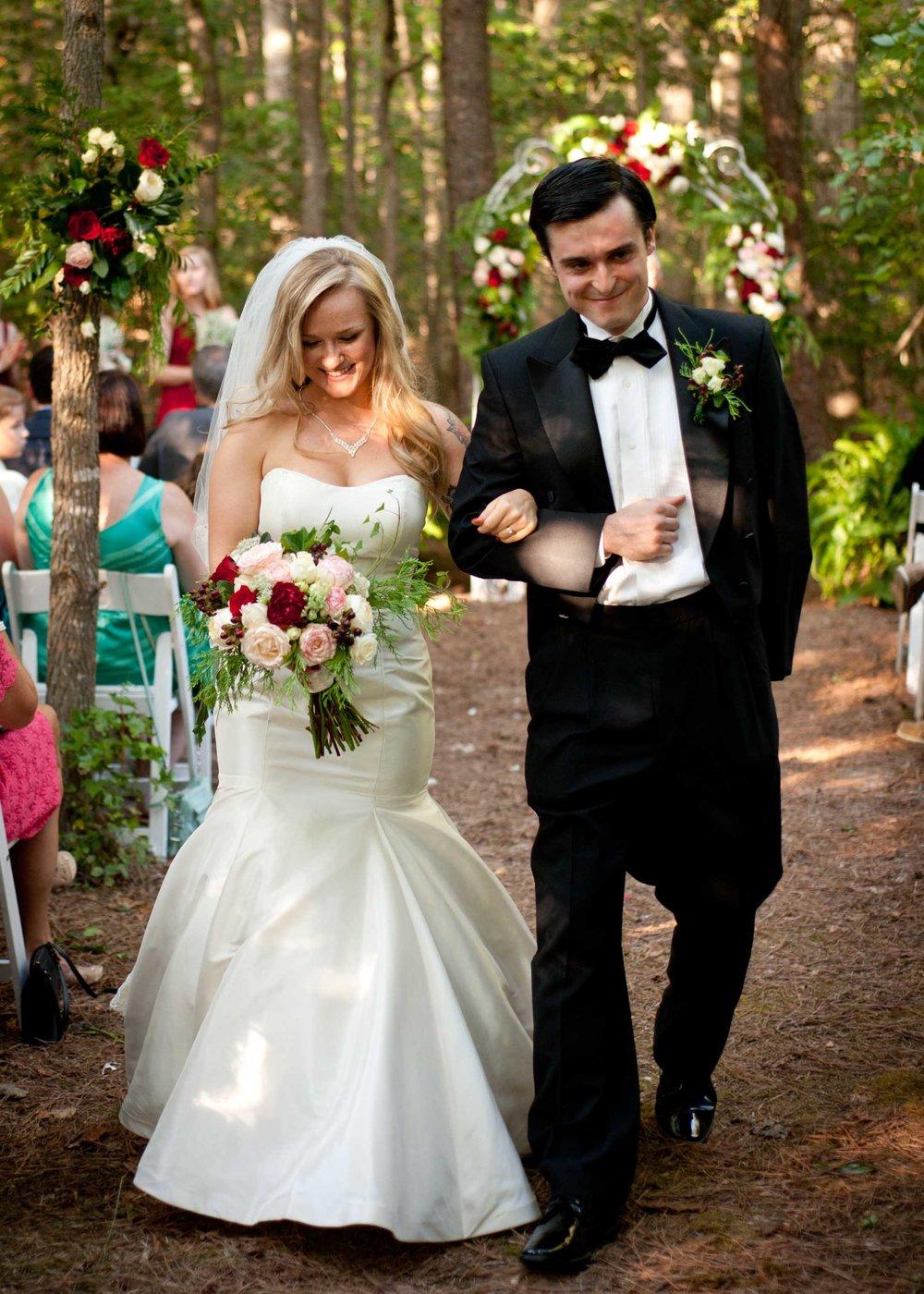 wedding ceremony recessional bride groom .jpg